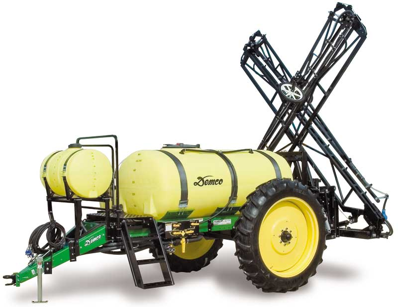 Demco 500 Gallon Big Wheel, for sale at Zoske's, call our sales department today!