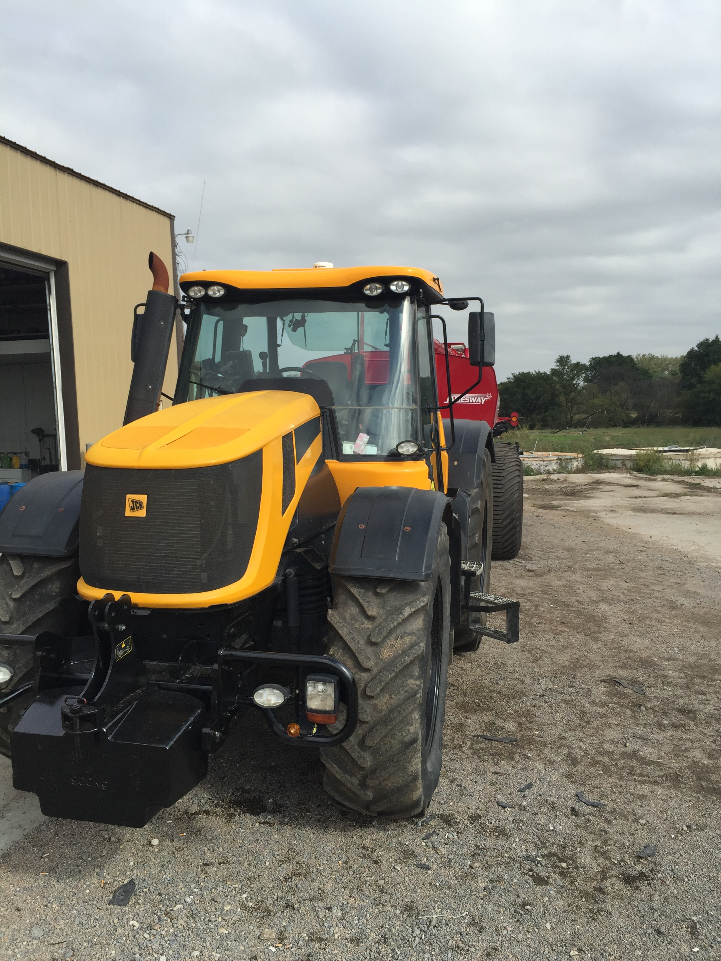 Try adding an auto steer to your JCB tractor and enjoy the benefits of the riding tractor.