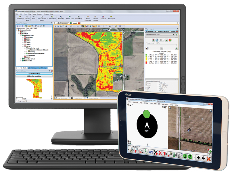 We sell AG's top quality Software apps for improving agricultural processes from germination to harvest. Now responsive for your computer, tablet, or mobile phone.