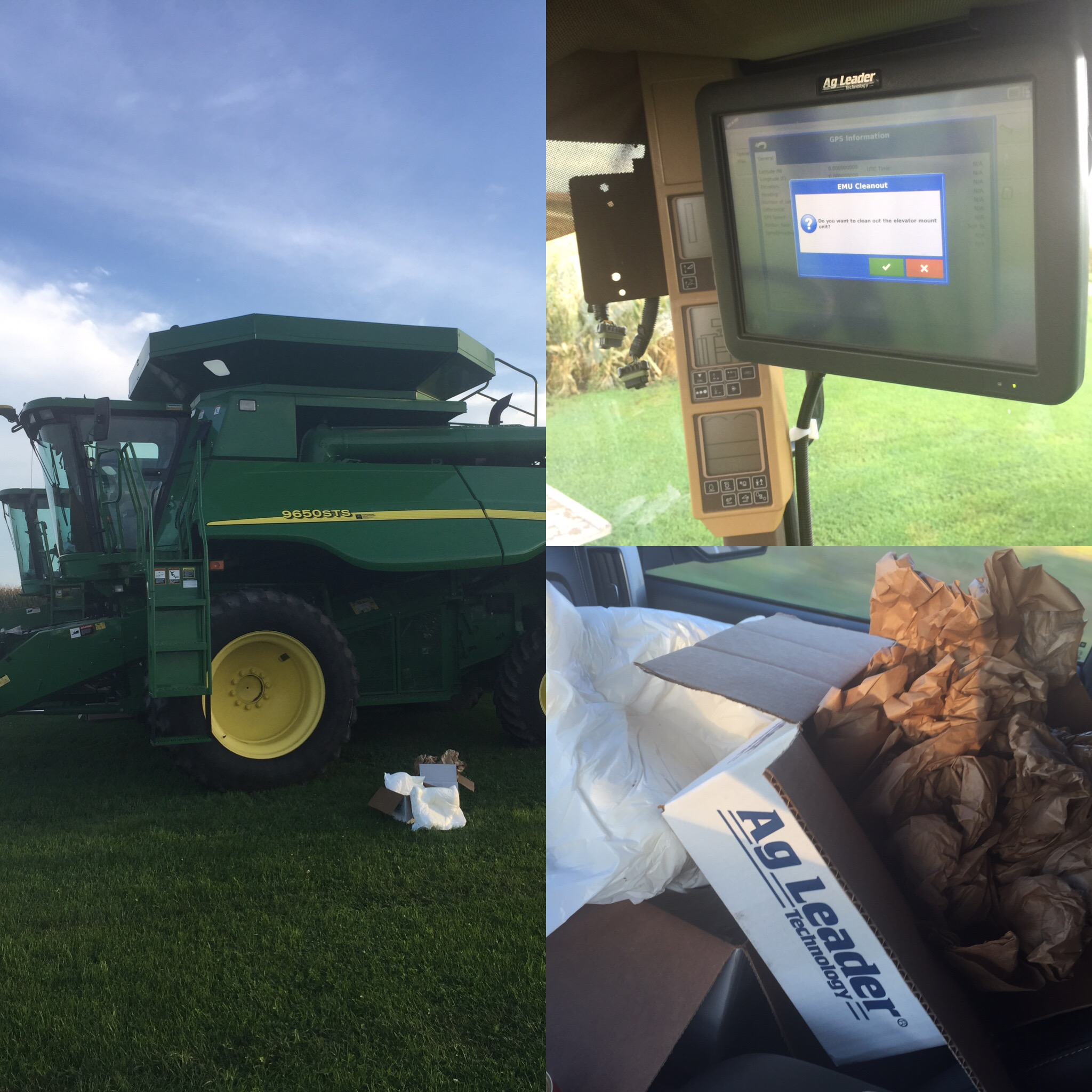 AG Leader's Displays and Auto Steering equipment will plug and play with any variety of machine.