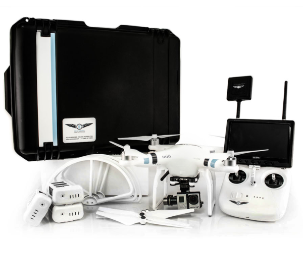 DJI Phantom 2 Drone, offered in a sizeable kit, the Halo Package.